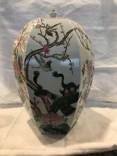 china chinese hand painted vase