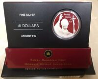 2005 $10 The Visit of Pope John Paul II to Canada - Pure Silver Coin