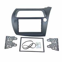 2 Din Radio Fascia for Honda Civic Hatchback Stereo Panel DVD Headunit Frame Kit