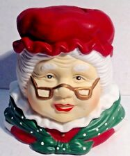 Candle Votive Mrs. Clause The Heritage Mint Ltd. 1998    WB3