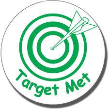 ST15 Target Met Pre-inked Marking Stamper School Teacher