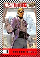 GOLDEN SKULL / 2017 MARVEL ANNUAL (2018 Upper Deck) BASE Trading Card #18