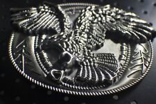 Classic Soaring EAGLE ` Full Metal BELT BUCKLE COUNTRY Western ** USA seller