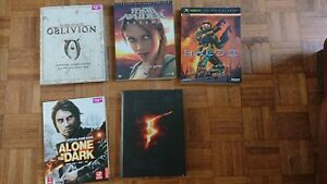 Vintage game Strategy guide books bundle