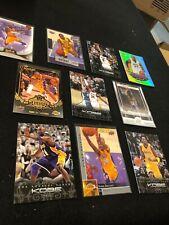 Kobe Bryant Basketball (10) Card Lot- Panini, Upper Deck & Fleer