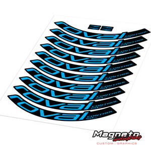 Roval Control SL 29 2018 Decal Kit - Reproduction Rim Decals
