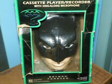 Batman Forever Cassette Player Recorder-M.I.B.  WITH FREE PHOTO