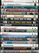 Classic films on DVD from Hollywood's Golden Age combined shipping
