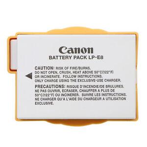Genuine Original Canon LP-E8 LPE8 Battery for EOS 550D 700D X4 X5 T2i T3i