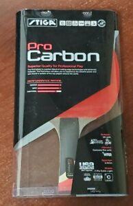STIGA PRO CARBON PERFORMANCE LEVEL TABLE TENNIS RACKET CARBON TECHNOLOGY T1290