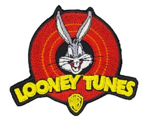 Looney Tunes Bugs Bunny Patch Cartoon Warner Brothers WB