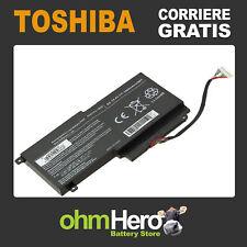 Batteria POTENZIATA 14.4-14.8V 3000mAh per toshiba Satellite L50-A