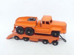 Matchbox Lesney No 15 Rotinoff Atlantic Tractor & No 16 Atlantic Trailer