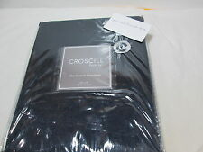 New Croscill Home Euro European Pillow Sham Hannah 26x26 Dark Blue (Navy) Nip