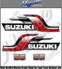SUZUKI - 85hp - OUTBOARD DECALS