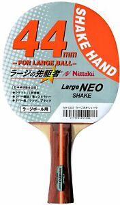 Nittaku Table Tennis Racket Japan Original Large NEO Shake Paddle NH-5323