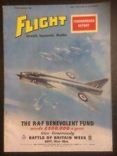Flight International Magazine - 9th September 1960 - Farnborough Air Show Report