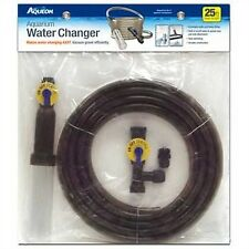 Aquarium Water Changer Fish Tank Siphon Vacuum Gravel Cleaner Hose Fresh 25-Feet