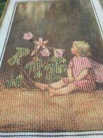 Vintage Cross Stitch Kit Cicely Mary Barker The Wood Sorrel Fairy Hg14