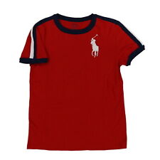 Polo Ralph Lauren Boys T-Shirt Big Pony Crew Neck Tee Casual New Nwt S M L Xl