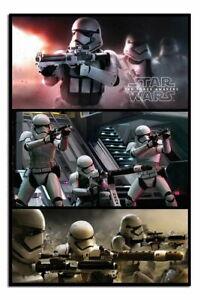 Stormtrooper Panels Star Wars Poster