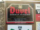 VINTAGE BELGIUM BEER LABEL. MOORTGAT BREWERY - DUVEL BELGIAN ALE 740 ML