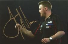 Darts: Jim Williams 'The Quiff' Signed 6x4 Action Photo+Coa