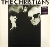 THE CHRISTIANS self titled s/t same ILPS 9876 A1/B1 1st press uk LP PS EX/EX