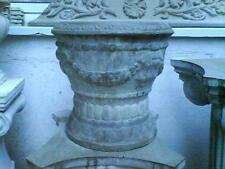 2 Pflanzgefäße Vase Blumengefäß Pflanzkübel Vasen Beton Steinguss