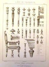 "Diderot's ""L'Art du Tourneur"" -1869- GREC MODERNE CHAIR"