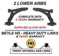 FOR FORD FOCUS MK1 1.6 1.8 2.0 FRONT LOWER WISHBONE ARMS BALL JOINTS MEYLE LINKS