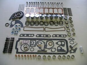 "Deluxe Engine Kit 1950-1954 Pontiac 268 w 1 1/8"" OP Gear 50 51 52 53 54"
