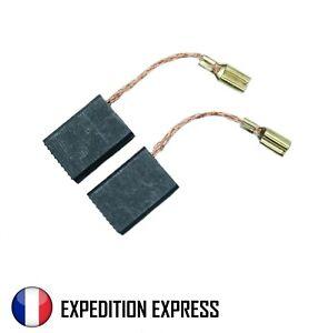 Paire de Charbon Pour moteur électrique 5 x 10 x 15 mm Universel Balais Brosses