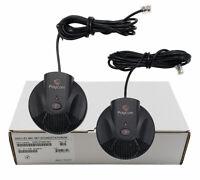 Polycom Soundstation 2W Expansion Mics Microphones (2200-07840-001) - Brand New