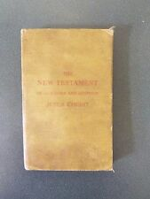 WWI Canadian Soldier Bible - Nova Scotia - DJ Thomas