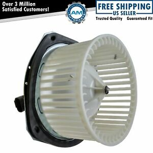 Heater Blower Motor w/ Fan Cage for Buick Chevy Pontiac Oldsmobile
