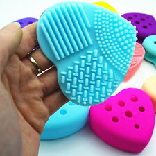 Silicone Ajouré Oeuf Nettoyage Gant Maquillage Brosse De Lavage Ponceuse Outil