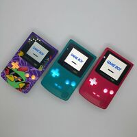 SERVICE SEND IN YOUR GBC: GameBoy Color Modding Service, IPS Screen, Recharge