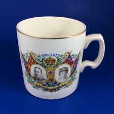 King George V & Queen Mary Silver Jubilee 1910-1935 Commemorative Mug