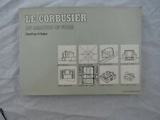 BOOK S/B LE CORBUSIER AN ANALYSIS OF FORM Geoffrey H. Baker nice condition 1984