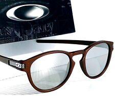 NEW* Oakley LATCH MACHINIST Matte Corten Chrome Iridium Lens Sunglass oo9265