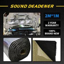 10MM 4M*1M Heat Proof Sound Noice Deadener Insulation Hood Adhesive Muffler AU