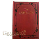 The Labyrinth Red Book inspired personalized hardcover journal notebook