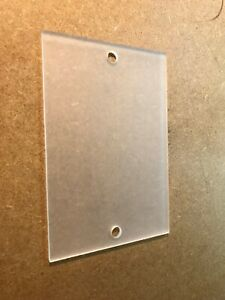 Modern House Sign Plaque Door Number Street Glass Effect Acrylic Frosted Name