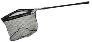 Shakespeare Agility Trout Telescopic Folding Rubber Net Landing Nets with Cover