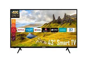 Telefunken XU43K521 43 Zoll Fernseher 4K UHD HDR Smart TV Prime Video / Netflix