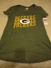 NWT Green Bay Packers Woman's s/s T-shirt NFL Team Apparel Size Small S