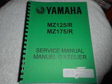 New listing Yamaha Mz125/R / Mz175/R service manual