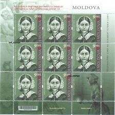Moldova 2020 Full Sheet Personalities who changed  history Florence Nightingale