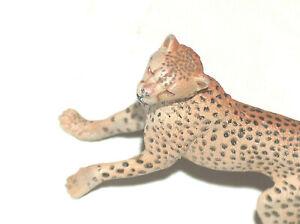 "2004 PAPO 4"" 10.16 cm #1114 Cheetah Figure Wild Amazon Hard Solid Plastic Animal"